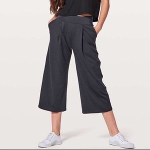 Lululemon Can You Feel The Pleat Cropped Pants